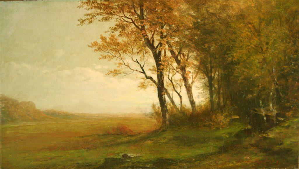 Autumn Landscape, © John Francis Murphy, 9 X 15.25 inches