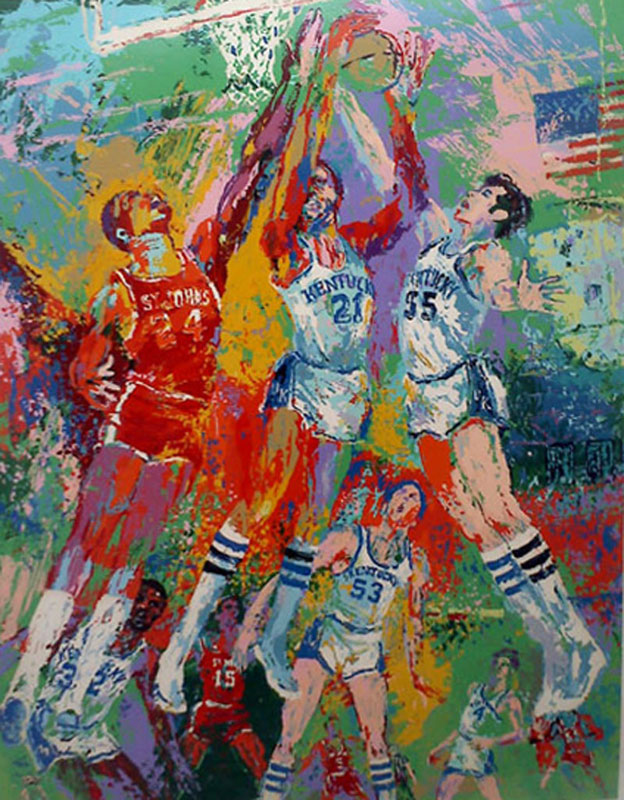 Kentucky Wildcats, © LeRoy Neiman