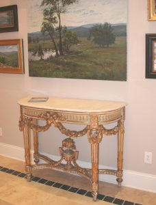 Both Beautiful And Surprisingly Durable, A Gilded Finish Can Be Restored Or  Newly Applied On Nearly Any Type Of Furniture, Including Case Pieces,  Chairs, ...